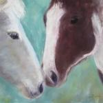 Horses  Nuzzlin' 11x14