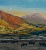 <em>Morning Breaks Over Sweet Pasture</em>