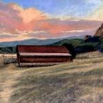 Bee Rock Barn, 12x16
