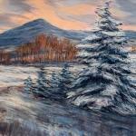 Colorado Winterscape, 9x12