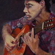 Tango Guitarist