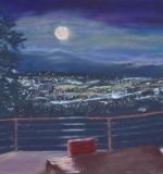 <i>Moonrise over COS</i>