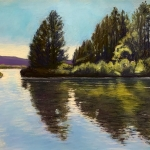 Grand Lake, 9x12
