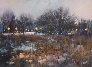 Karen Margulis pastel painting